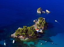 greece parga Royaltyfria Bilder
