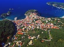 greece parga Royaltyfri Bild