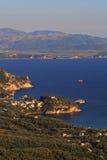 greece parga Royaltyfria Bilder