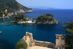 greece parga Royaltyfri Foto