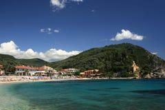 greece parga Fotografering för Bildbyråer