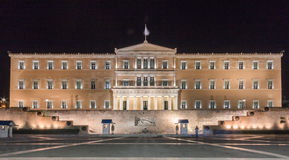 Greece Parliament Athens stock photo