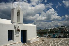Greece, Paros Royalty Free Stock Photo