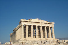 greece parthenon Arkivbilder