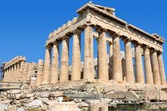 greece parthenon Arkivbild