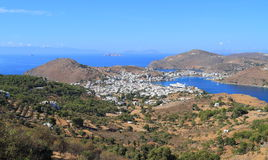 Greece/Patmos: Landscape Royalty Free Stock Photo