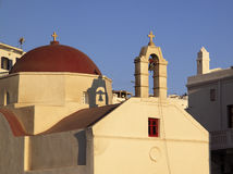 Greece, Patmos Skala Orthodox chapel Royalty Free Stock Photography