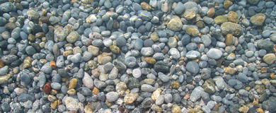 Greece pebble Royalty Free Stock Photography