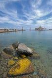 Greece pelo carro Fotografia de Stock Royalty Free