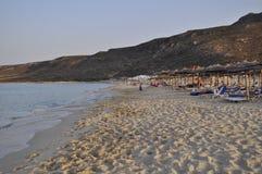 Greece Peloponnese. Elafonisos Island. seascape Stock Photography
