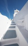 Greece - Perfect White in Santorini Stock Photo