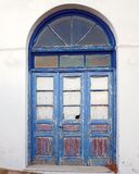 Greece, picturesque house arched door Royalty Free Stock Image