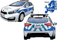 Greece Police Car Stock Image