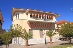 Greece/Preveza: National Bank. Location of the National Bank of Greece; built in 1930 Stock Photos