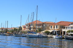 Greece/Preveza: Tourist Boats royalty free stock photo