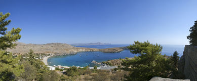 Greece, Rhodes Island, Lindos Royalty Free Stock Photos