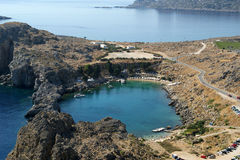 Greece, Rhodes Island, Lindos Stock Photography