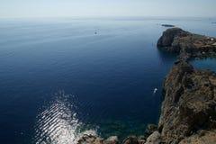 Greece, Rhodes Island, Lindos Royalty Free Stock Photos
