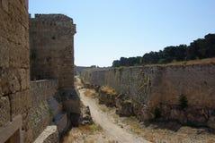 Greece, Rodos. Greece Rodos Order of Malt Tower Royalty Free Stock Photography