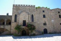 Greece, Rodos. Greece Rodos, Rodos town, old castle by Order of Malta Stock Photography