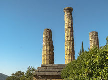 Greece ruins. Royalty Free Stock Image