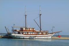 Greece, Sailing Ship Stock Photography