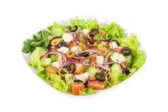 Greece salad Royalty Free Stock Photos