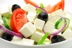 Greece salad Stock Photography