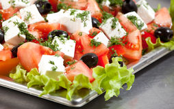 Greece salad Stock Image