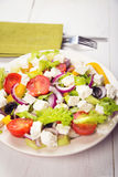 Greece salad royalty free stock image