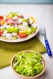 Greece salad stock photo