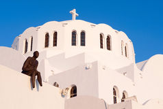 greece santorini Fotografia Stock