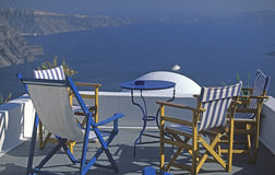 greece santorini Fotografia Stock
