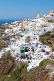 greece santorini Arkivfoton