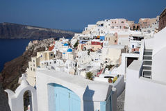 greece santorini Royaltyfri Bild