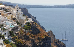 greece santorini Royaltyfria Bilder