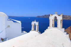 Greece Santorini. Beautiful of the island Royalty Free Stock Photo
