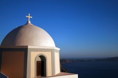 Greece, Santorini - Church Royalty Free Stock Image