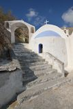 Greece, Santorini, Church of Kamari Stock Photos