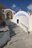 Greece, Santorini, Church of Kamari Stock Photos