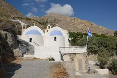 Greece, Santorini, Church of Kamari Stock Images