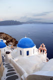 Greece, Santorini Dusk Royalty Free Stock Photography