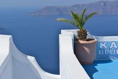 Greece, Santorini, Fira Foto de Stock Royalty Free