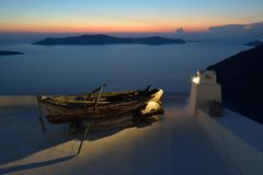 Greece, Santorini, Fira Stock Image