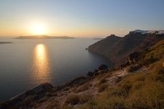 Greece, Santorini, Fira Royalty Free Stock Photography