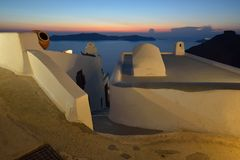 Greece, Santorini, Fira Royalty Free Stock Image