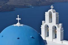 Greece, Santorini, Fira Royalty Free Stock Images