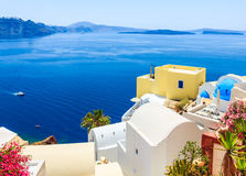 Greece Santorini island, caldera view Royalty Free Stock Photo