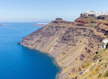 Greece Santorini island in Cyclades Stock Photography