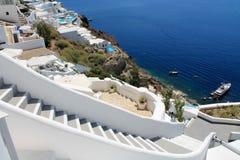 Greece Santorini island stock photography